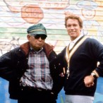 Akira Kurosawa visits the set of KINDERGARTEN COP