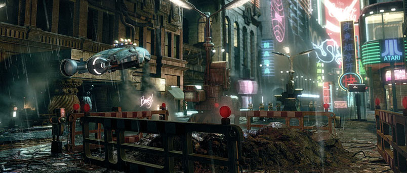 Bladerunner lower city