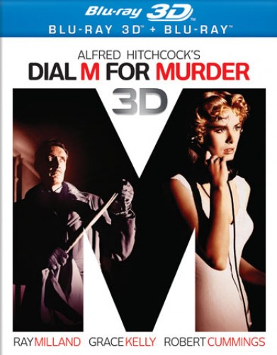 dial m for murder bluray