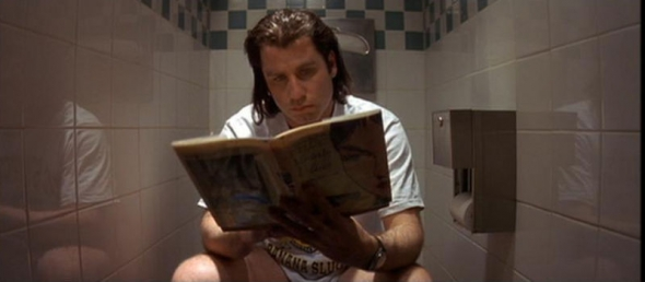 Pulp Fiction Bathroom