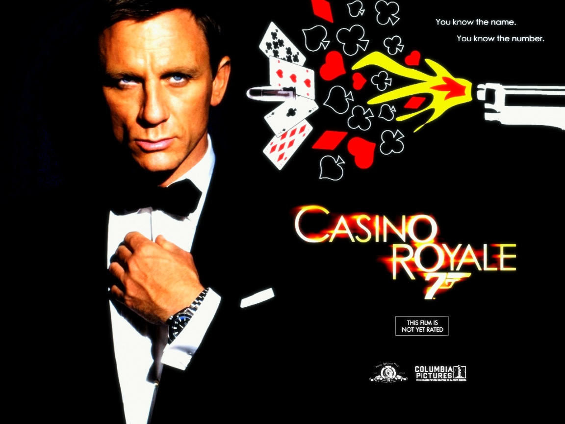 Daniel Craig Casino Royale Wallpaper