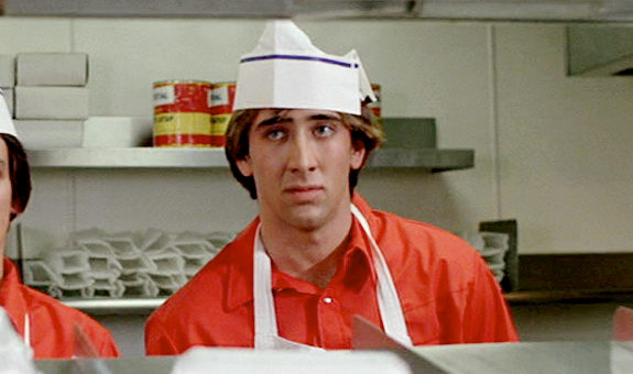 Nicolas Cage In 'Fast Times At Ridgemont High'