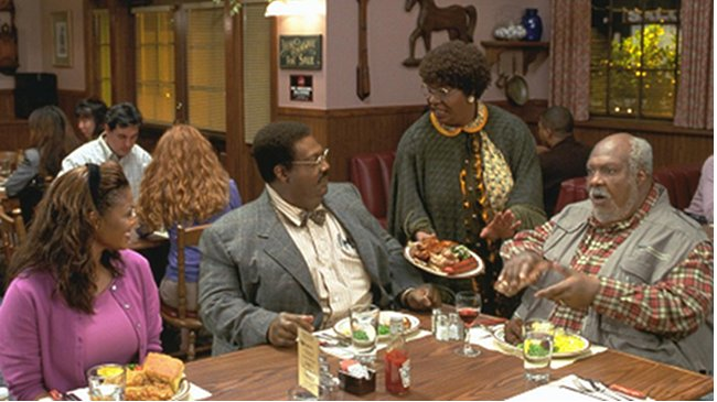 meet the klumps dinner scene