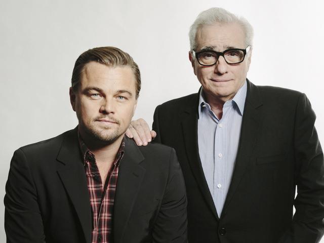 Leonardo DiCaprio Martin Scorsese Portraits