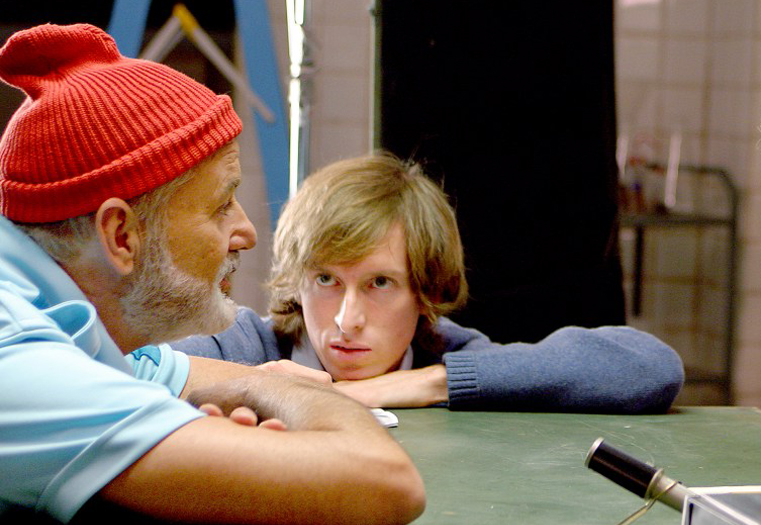 Wes Anderson & Bill Murray