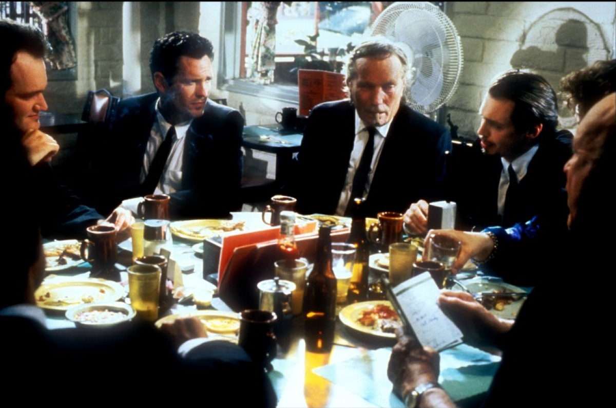 reservoir dogs dining scene