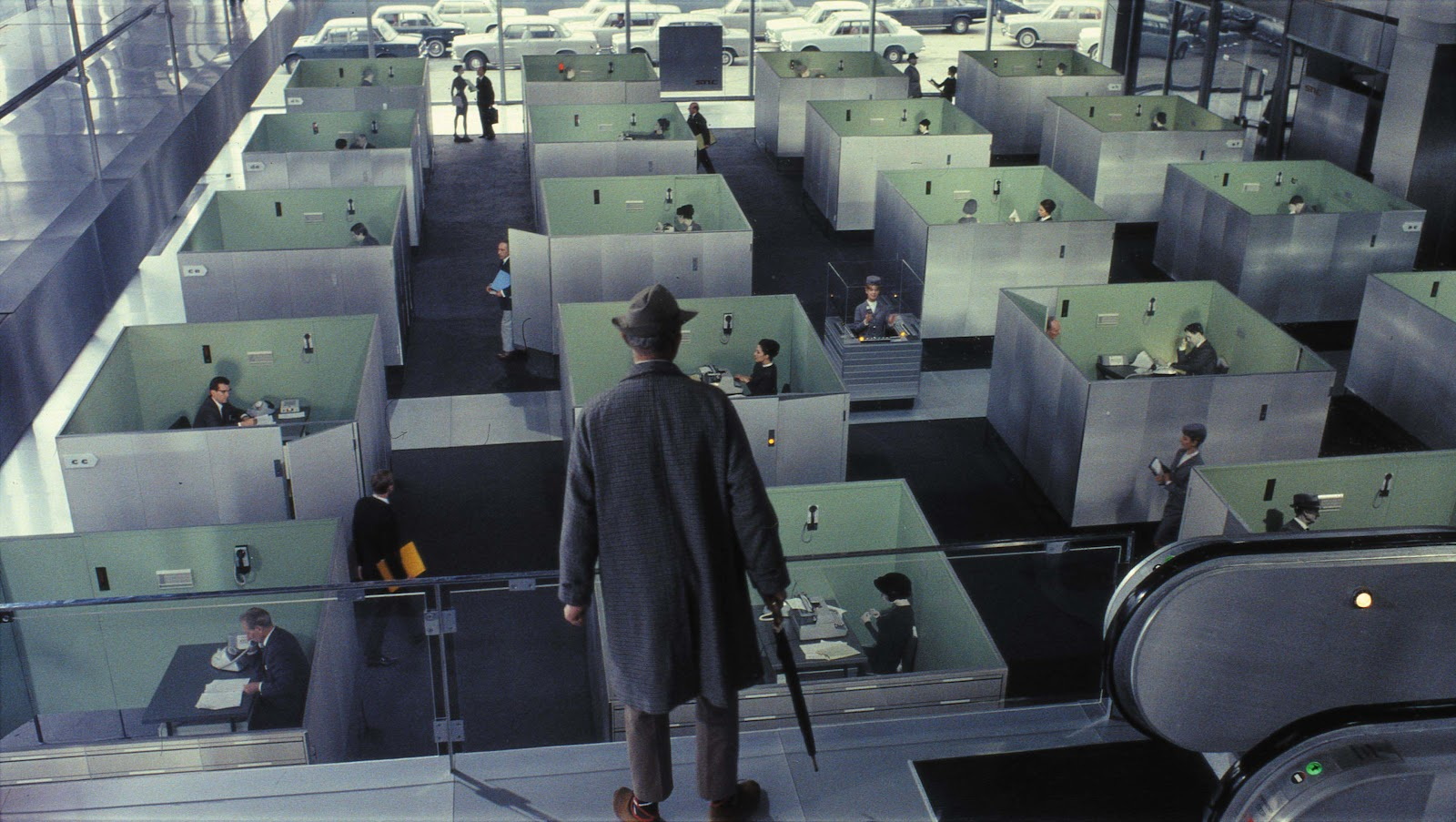 jacques tati s playtime Jacques tati, writer: les vacances de monsieur hulot the comic genius jacques tati was born taticheff, descended from a noble russian family his grandfather, count.