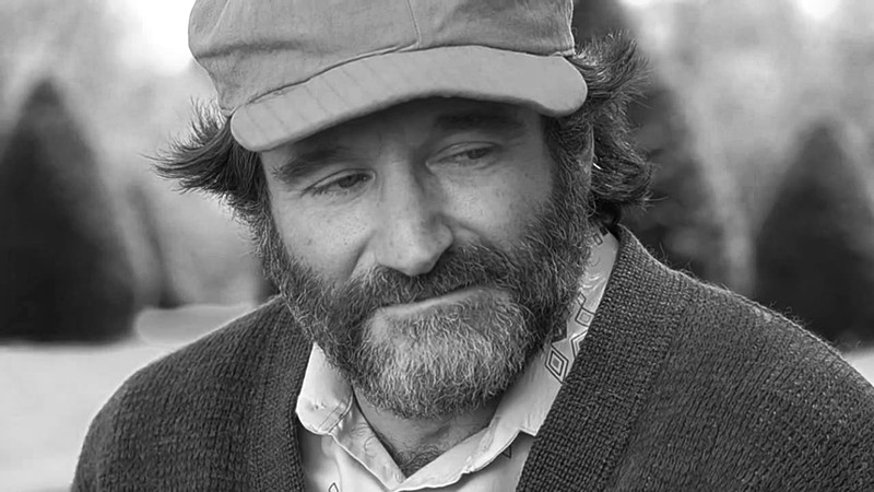 beard Robin williams