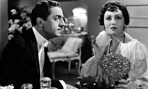 Luise Rainer, right, with William Powell in The Great Ziegfeld, 1936