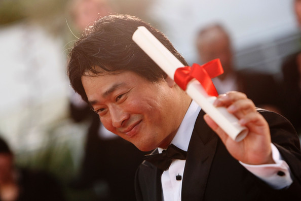 Park+Chan+wook+Palm+Award+Ceremony