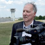 Werner-Herzog-at-Polunsky-Unit-in-Texas