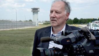 Werner-Herzog-at-Polunsky-Unit-in-Texas