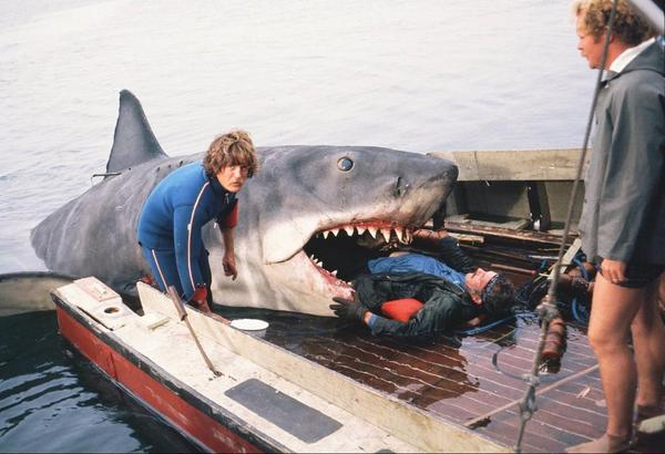Jaws behind the scene