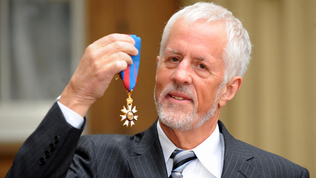 LONDON - FEBRUARY 18:  Acclaimed film-maker Michael Apted poses for photographs after he was awarded the Order of Saint Michael and Saint George by Queen Elizabeth II at Buckingham Palace on February 18, 2009 in London, England.  (Photo by Ian Nicholson - WPA Pool/Getty Images) *** Local Caption *** Michael Apted