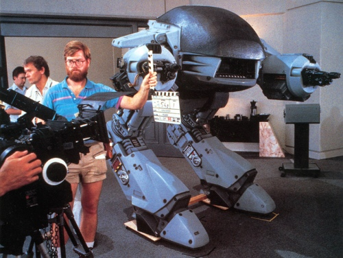 RoboCop behind the scene