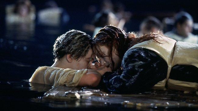 titanic ending