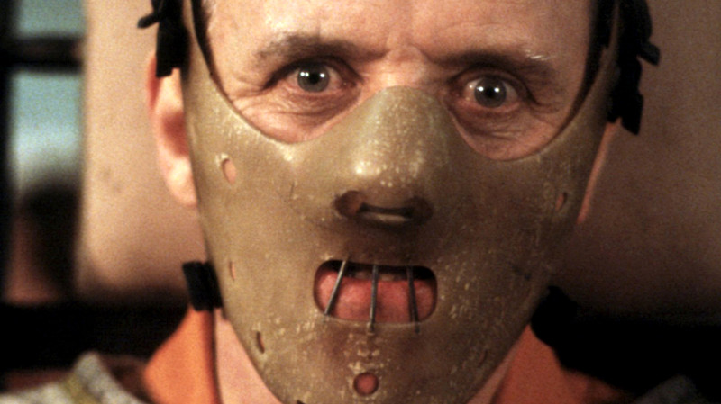 No Merchandising. Editorial Use Only Mandatory Credit: Photo by Everett Collection / Rex Features ( 411879fv ) 'THE SILENCE OF THE LAMBS' - Anthony Hopkins - 1991 VARIOUS