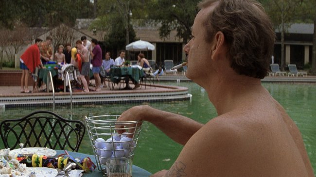 rushmore pool scene