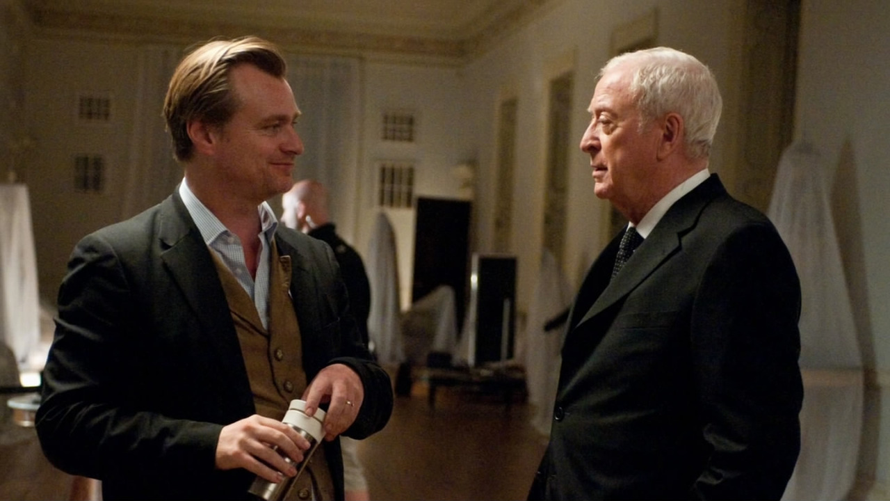 Christopher Nolan & Michael Caine
