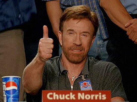 Dodgeball - Chuck Norris