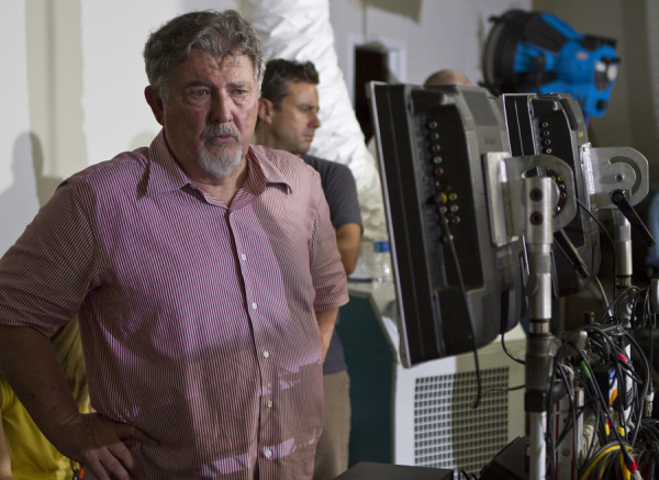 "Director WALTER HILL on the set of Warner Bros. Pictures', Dark Castle Entertainment's and IM Global's action thriller ""BULLET TO THE HEAD,"" a Warner Bros. Pictures release."