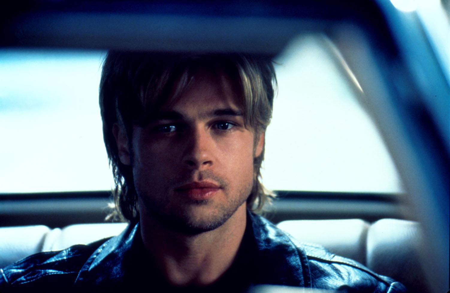 A scene from the film 'The devil's own' (1997) starring Brad Pitt.