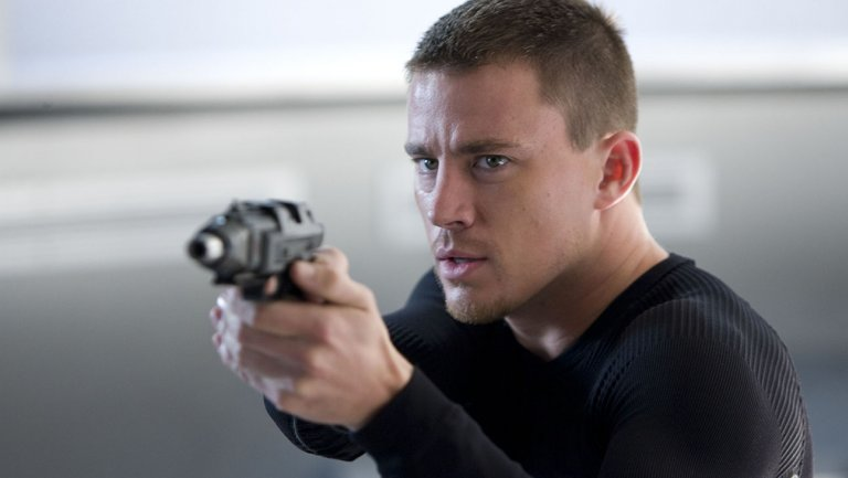 Channing Tatum for G.I. Joe Rise of Cobra