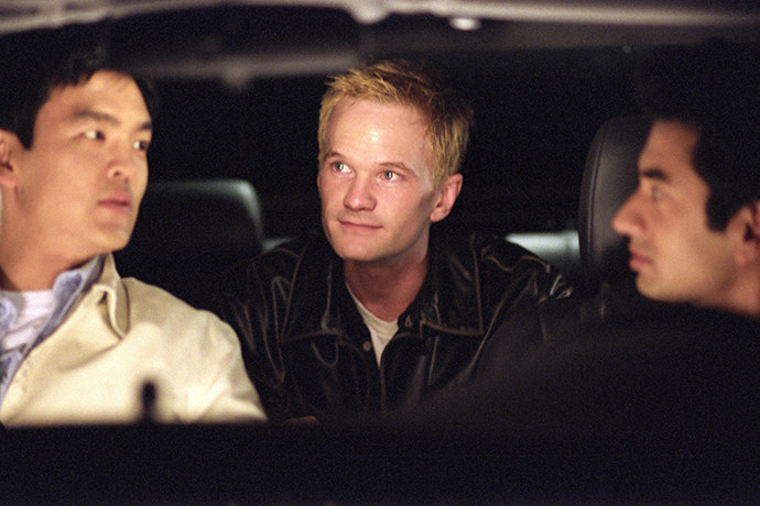 Neil Patrick Harris in the Harold and Kumar films