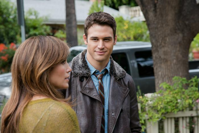 "Ryan Guzman and Jennifer Lopez star in a scene from the movie ""The Boy Next Door."" The Catholic News Service classification is O -- morally offensive. The Motion Picture Association of America rating is R -- restricted. Under 17 requires accompanying parent or adult guardian.(CNS photo/Universal) See MOVIE REVIEW (EMBARGOED) Jan. 22, 2015."