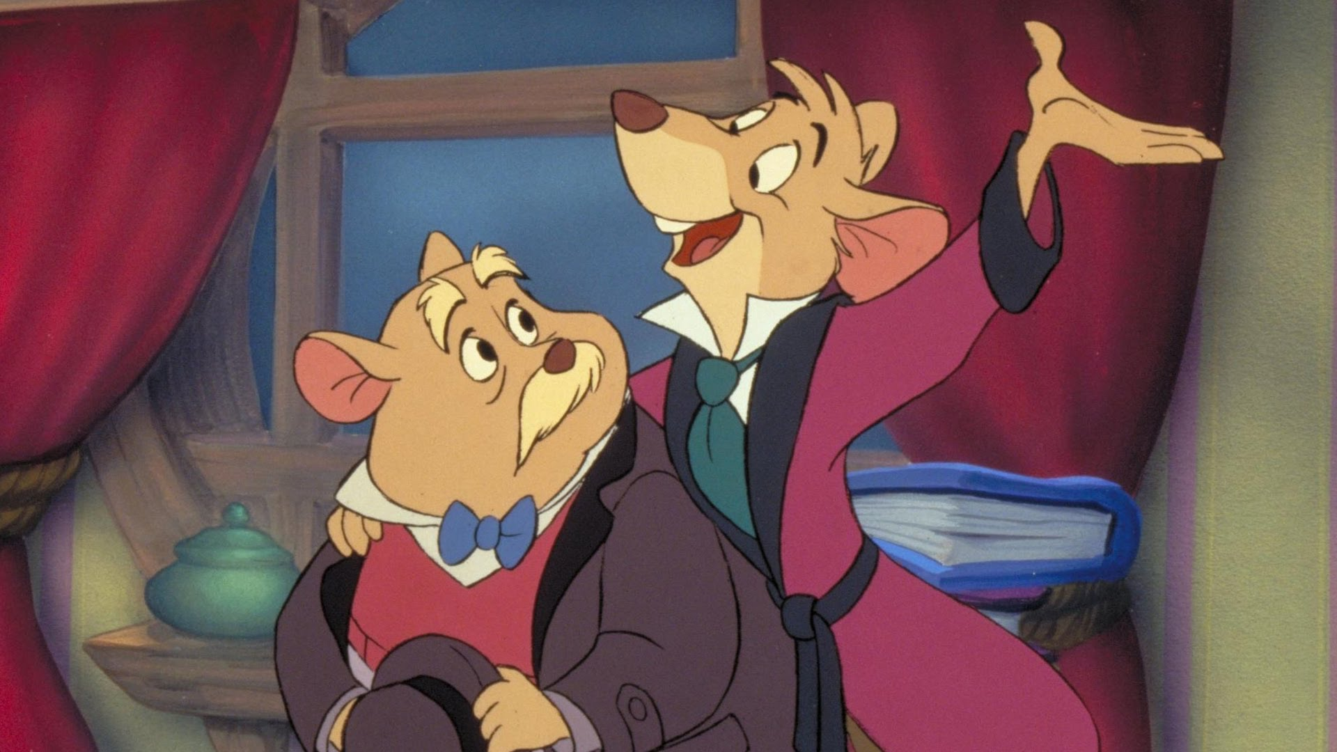 Basil the Great Mouse Detective (1986)
