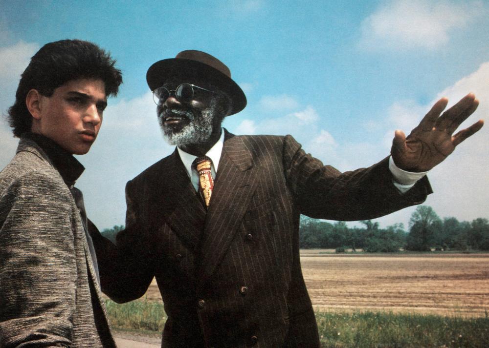 CROSSROADS, from left:Ralph Macchio, Joe Seneca, 1986. ©Columbia Pictures