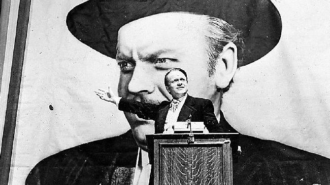 a cinematographic analysis of citizen kane a movie by orson welles