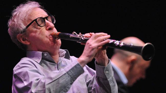 Woody Allen sax
