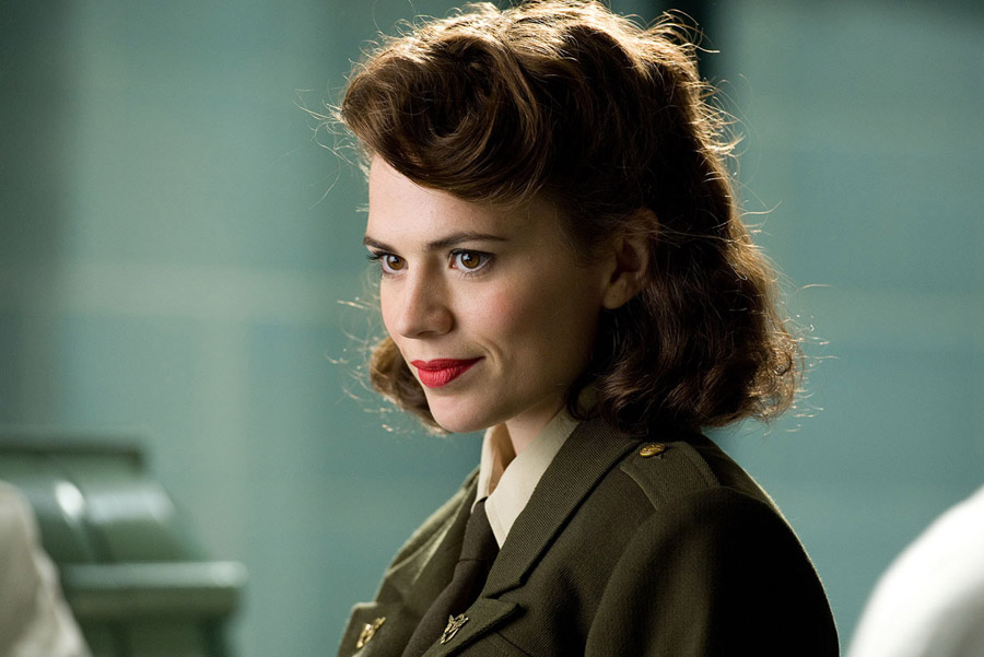 Hayley Atwell as Peggy Carter- Captain America The first Avenger & The Winter Soldier