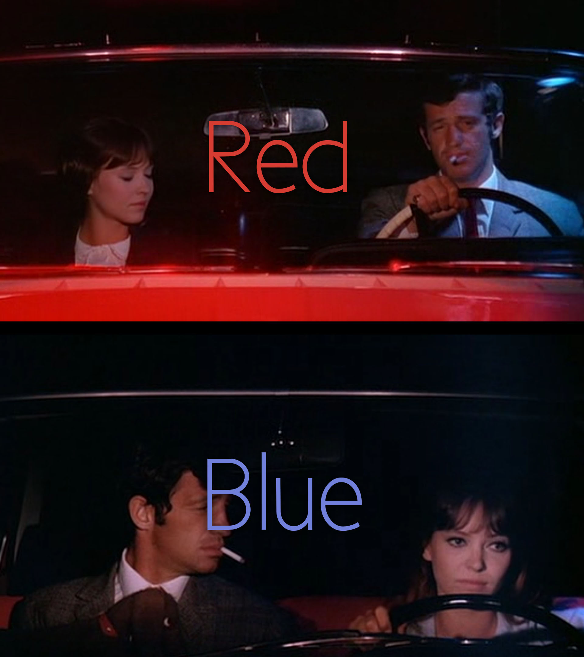 PIERROT LE FOU colours