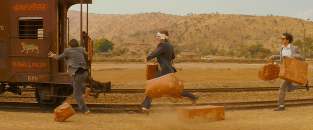 The Chasing the Train in The Darjeeling Limited