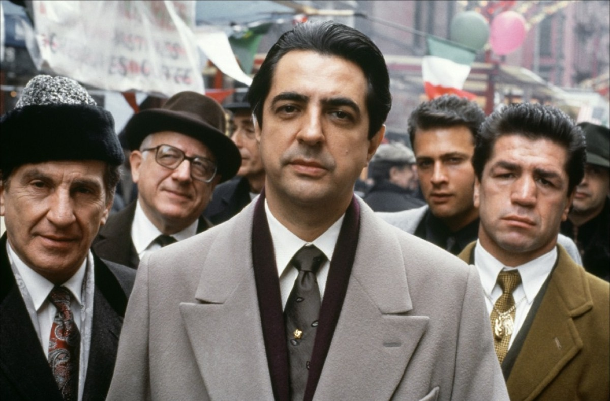 Joey Zasa gets killed from The Godfather Part III