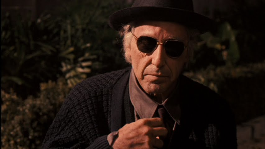 Michael dies alone from The Godfather Part III