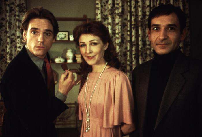 BETRAYAL, Jeremy Irons, Patricia Hodge, Ben Kingsley, 1983