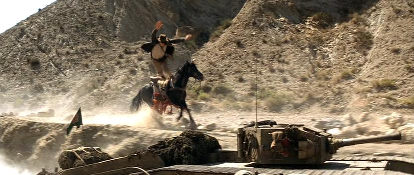 Tank cliff scene from Indiana Jones and the Last Crusade
