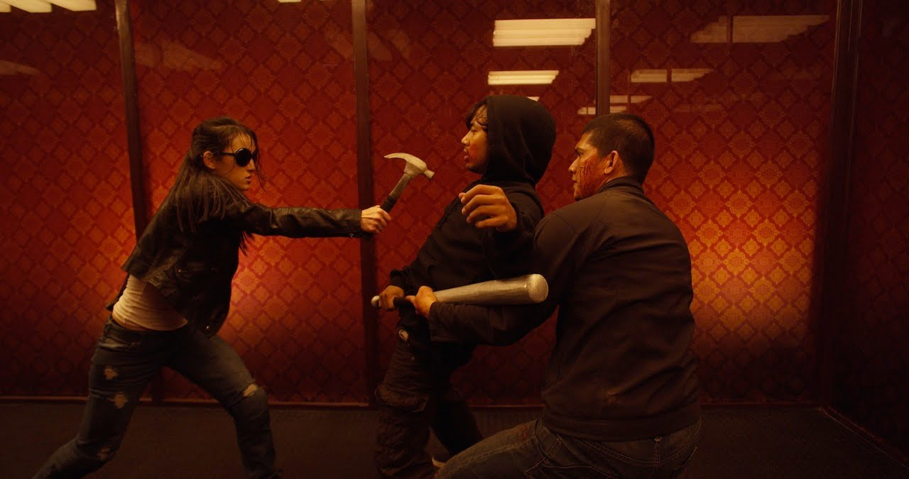 Baseball Bat Man & Hammer Girl in The Raid 2 (2014)