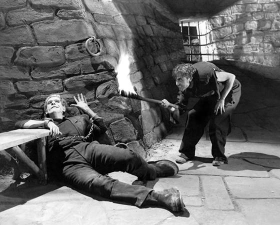 Fritz in Frankenstein (1931)