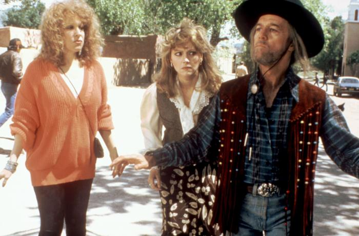 OUTRAGEOUS FORTUNE, Bette Midler, Shelley Long, George Carlin, 1987, (c)Buena Vista Pictures