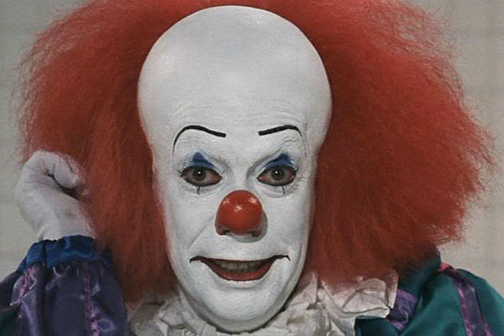 best movies with evil clowns