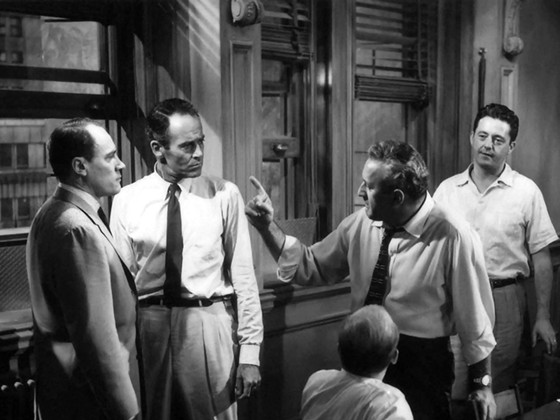 12 angry men film discussion In 1957, henry fonda starred in the film adaptation (12 angry men) retrieved from bradford, wade.