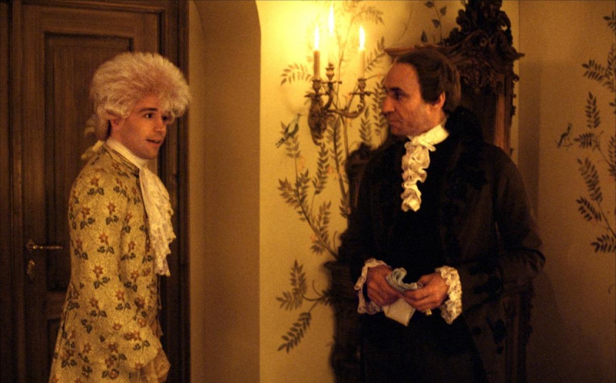 when did salieri and mozart meet