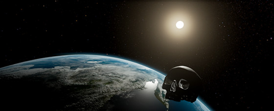 Orbital Vanitas - Shaun Gladwell