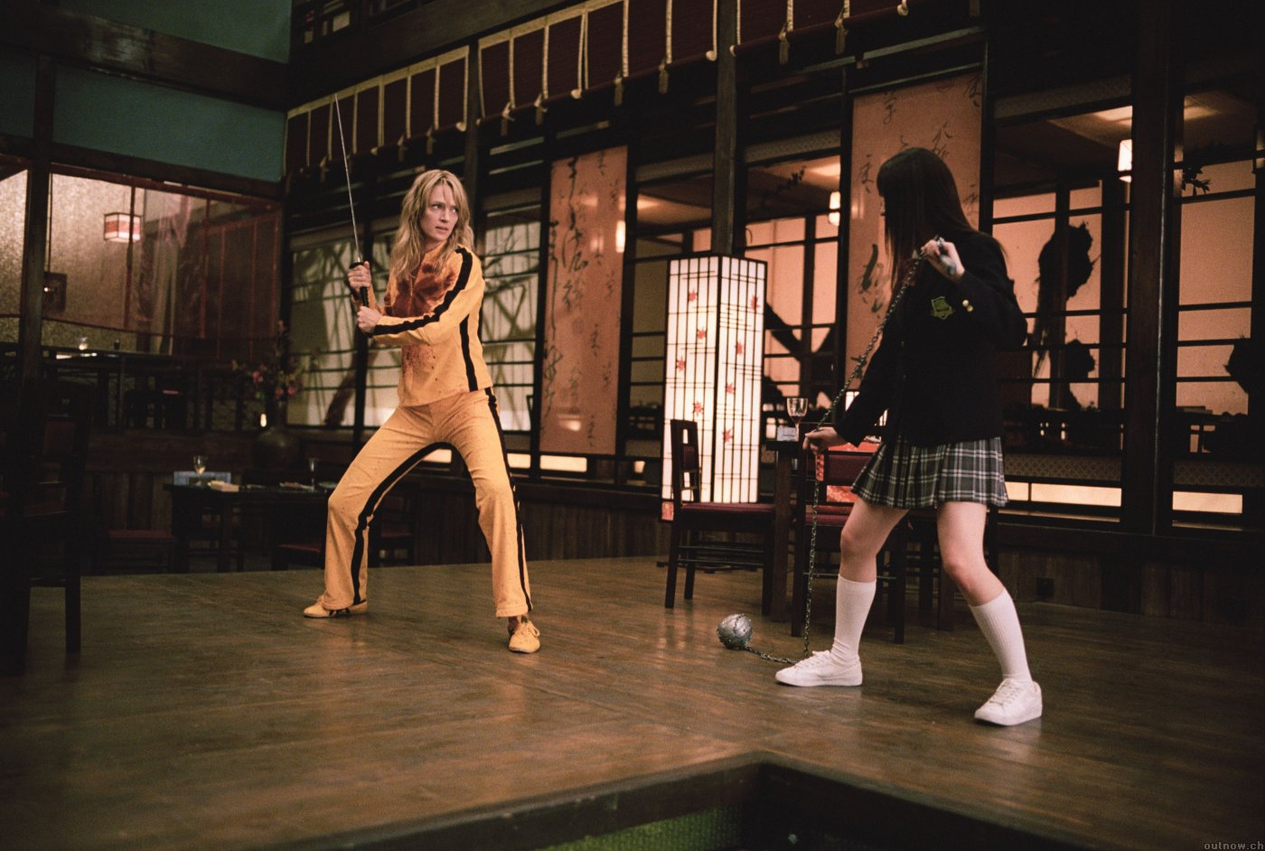 kill bill snow scene