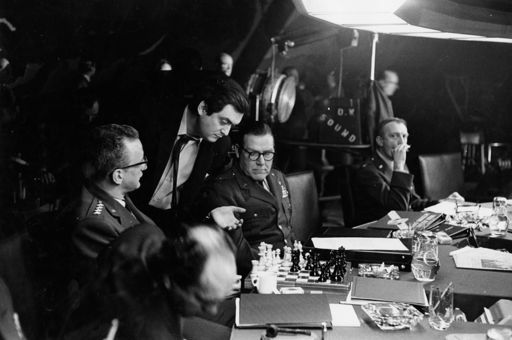 the problem of going crazy and using technology against society in dr strangelove a film by stanley  A movie odyssey: three decades of  i knew of stanley kubrick—i'd seen dr strangelove  but because this was the first film using dolby technology.
