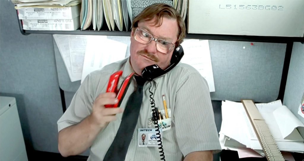 office space movie review Amazoncom: office space  average customer review:  i never get tired of this movie it is an icon for all office workers of 90's.
